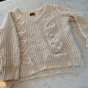 Chunky Knit Chenille Sweater
